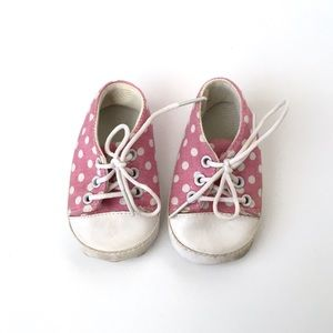 Other - Infant Baby Girl Polka Dot Sneakers Tennis Shoes